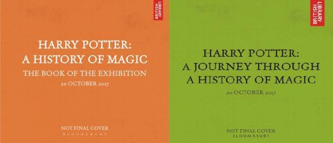 Le copertine provvisorie dei nuovi libri di Harry Potter