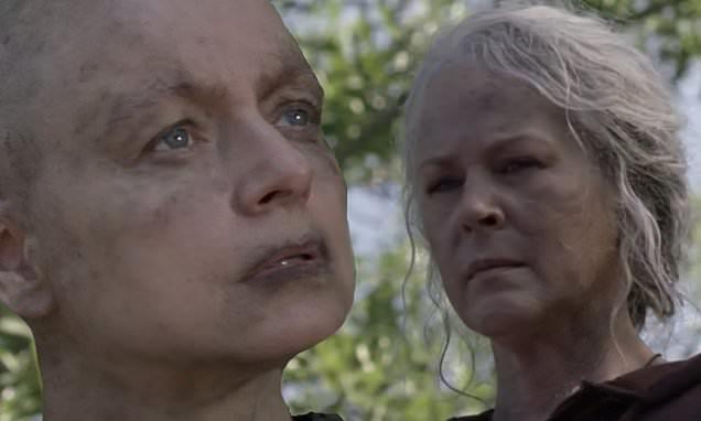 The Walking Dead 10x01: Alpha e Carol mentre si fissano