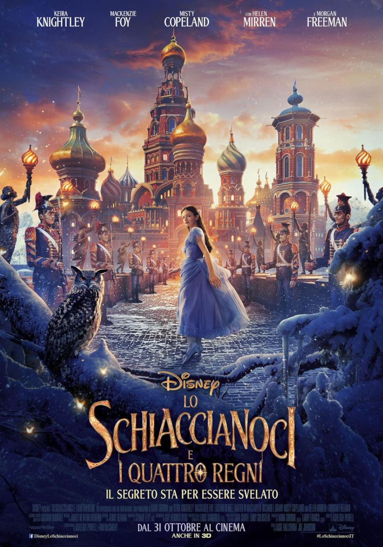 La locandina ufficiale del film Disney Lo Sciaccianoci e i Quattro Regn