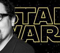Logo di Star Wars e Jon Favreau