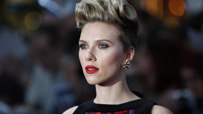 Primo piano di Scarlett Johansson