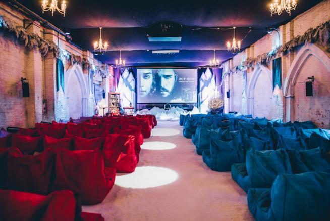 Backyard Cinema a tema Il Trono di Spade