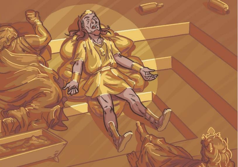 Il Tocco di Mida, Re Mida