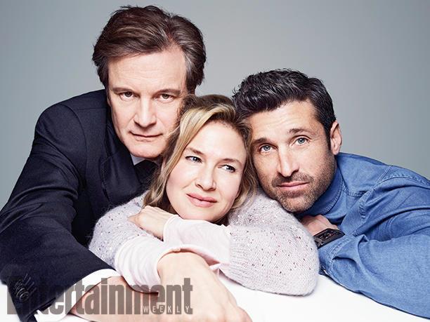 Bridget Jones' Baby i protagonisti