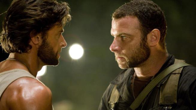Una scena tratta da X-Men Origins: Wolverine