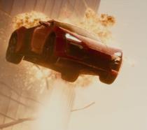 Una delle sequenze da brivido di Fast & Furious 7