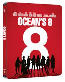 La Steelbook di Ocean's 8