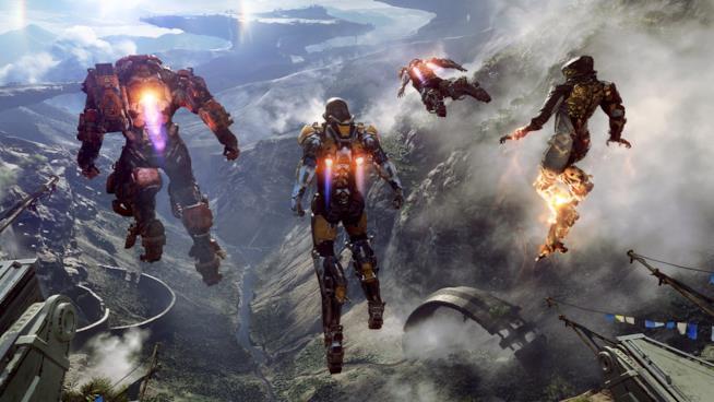 Jetpack in azione in Anthem di BioWare
