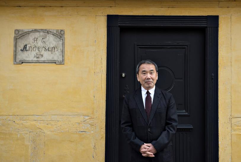 Lo scrittore Haruki Murakami