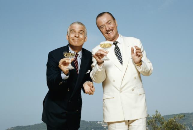 Steve Martin e Michael Caine in Due Figli di...