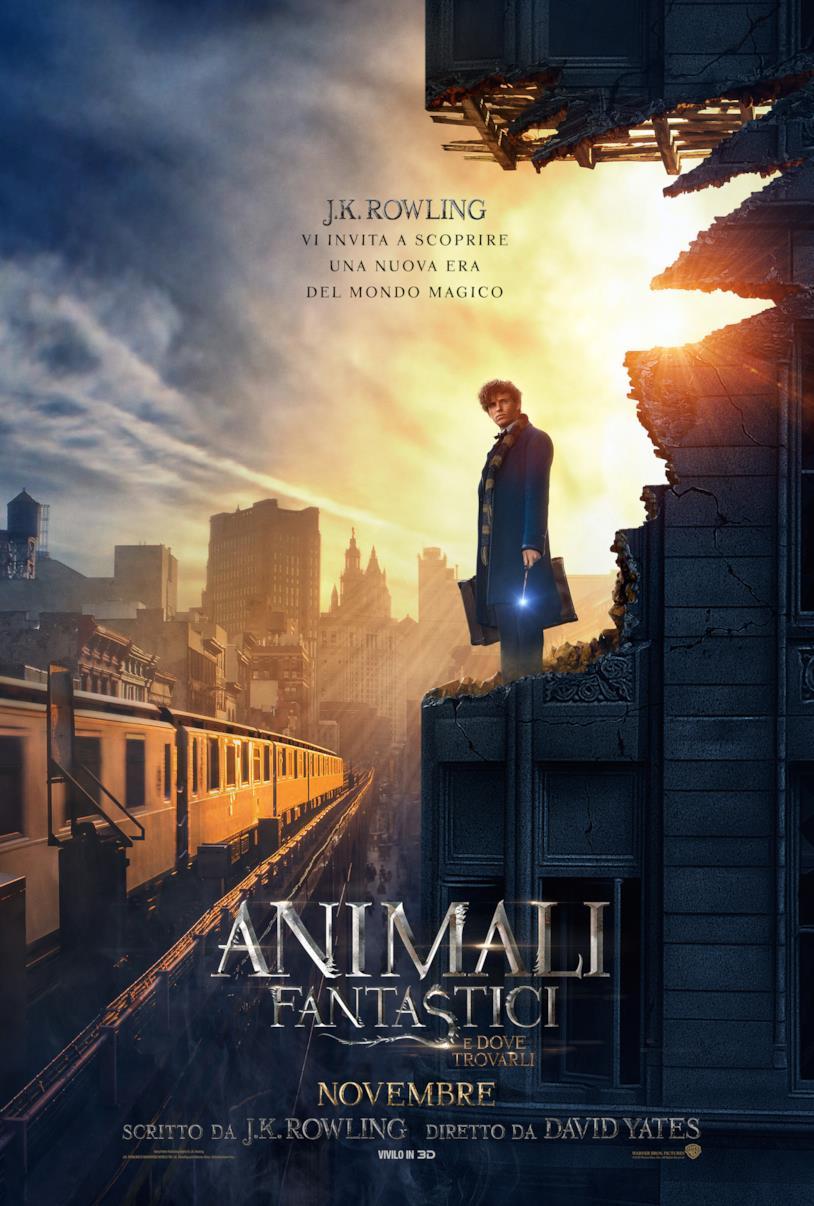 Eddie Redmayne nel nuovo poster di Animali Fantastici e Dove Trovarli