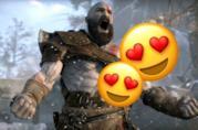 Kratos con le emoji