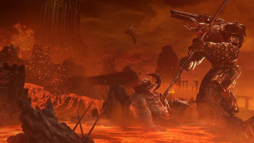 Doom Eternal mondo di gioco