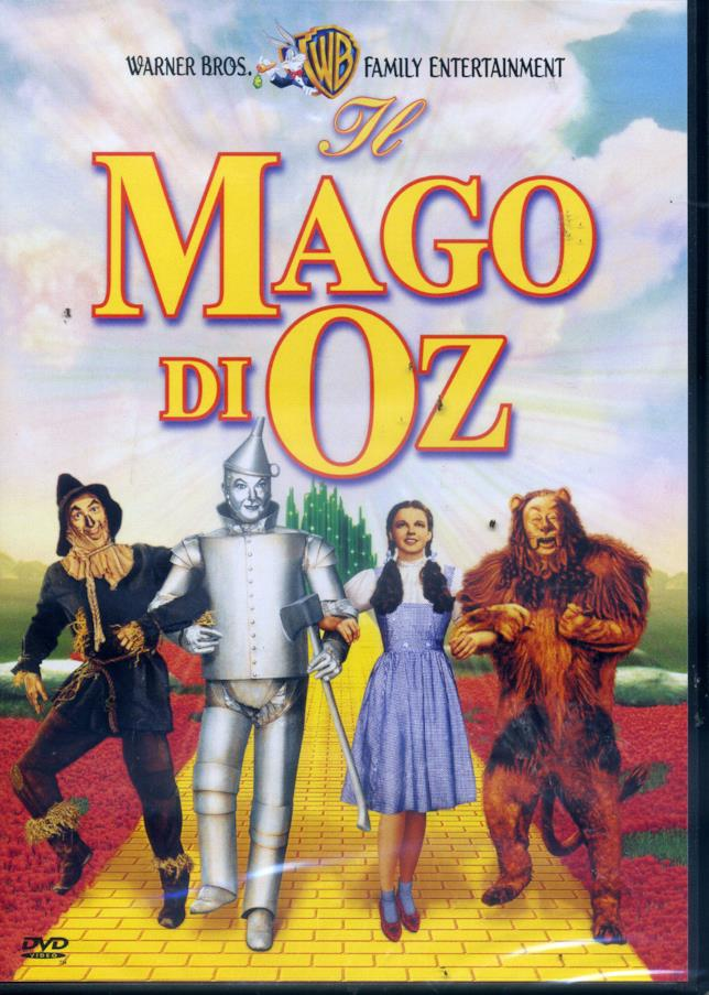Il DVD de Il mago di Oz