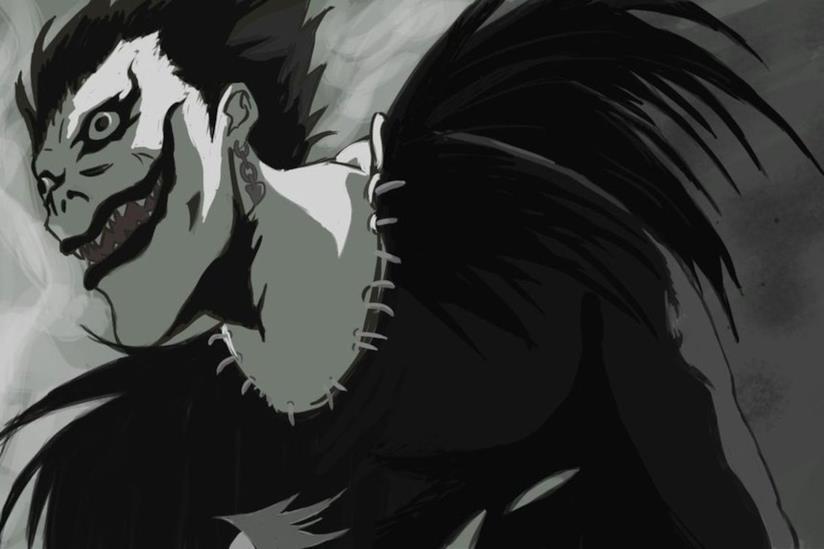 Ryuk, lo shinigami del manga Death Note
