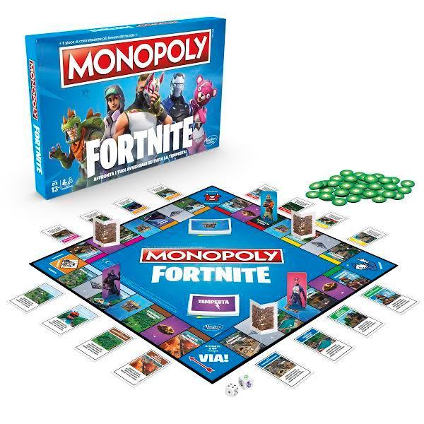 L'edizione di Monopoly dedicata a Fortnite