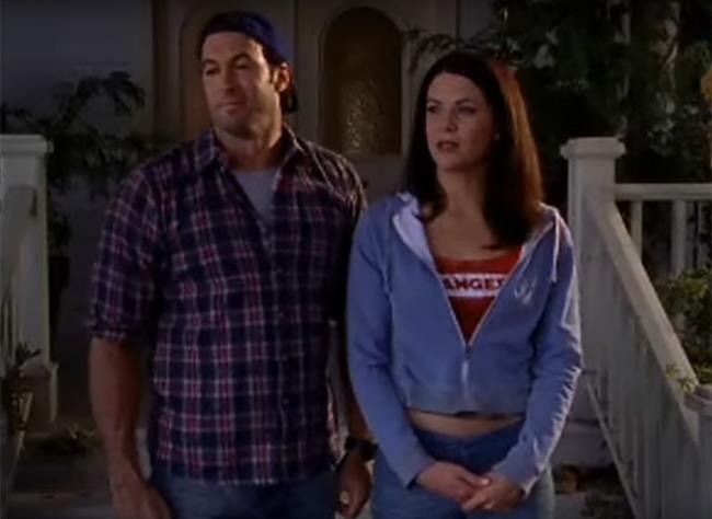 Luke e Lorelai nella seconda stagione di Una Mamma per Amica