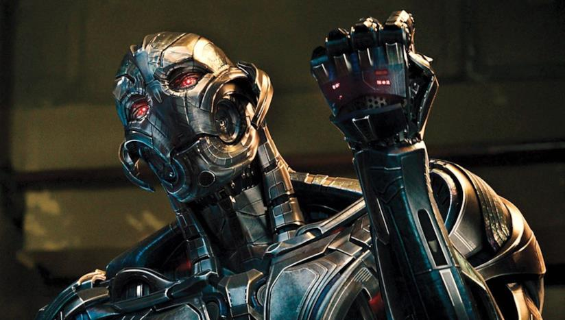 Un'immagine di Ultron in Avengers: Age of Ultron
