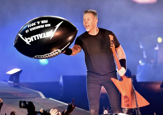 Pre-concert Super Bowl 2016 - James Hetfield