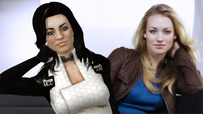 Yvonne Strahovski in Mass Effect 2