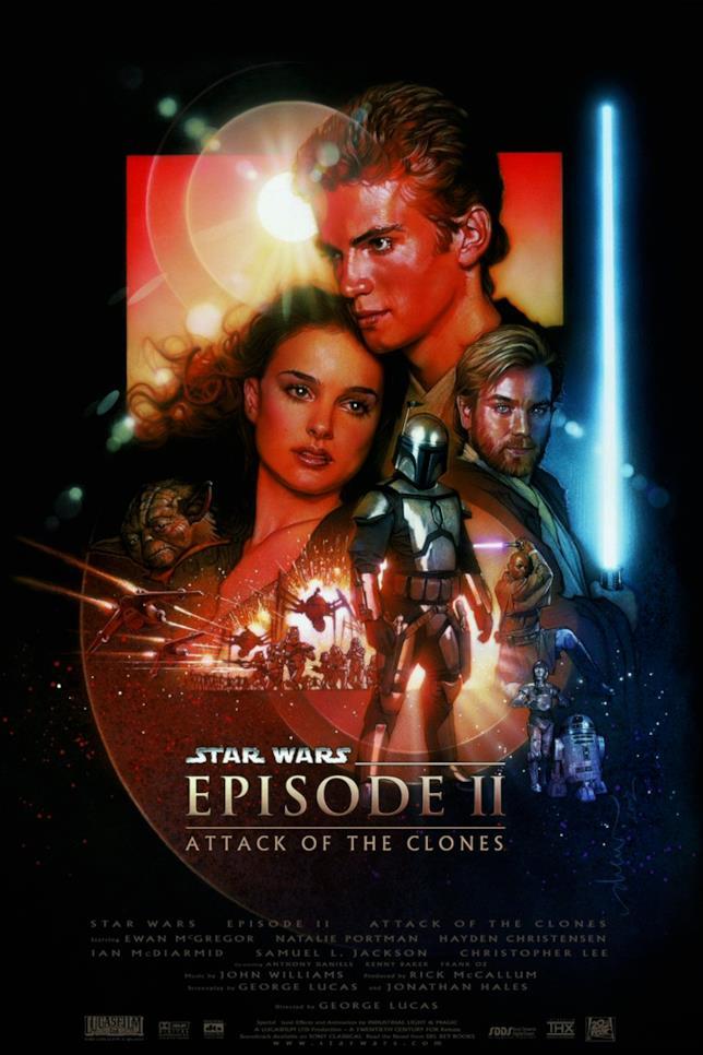 Poster de L'attacco dei cloni