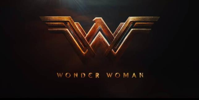 Wonder Woman, logo del film