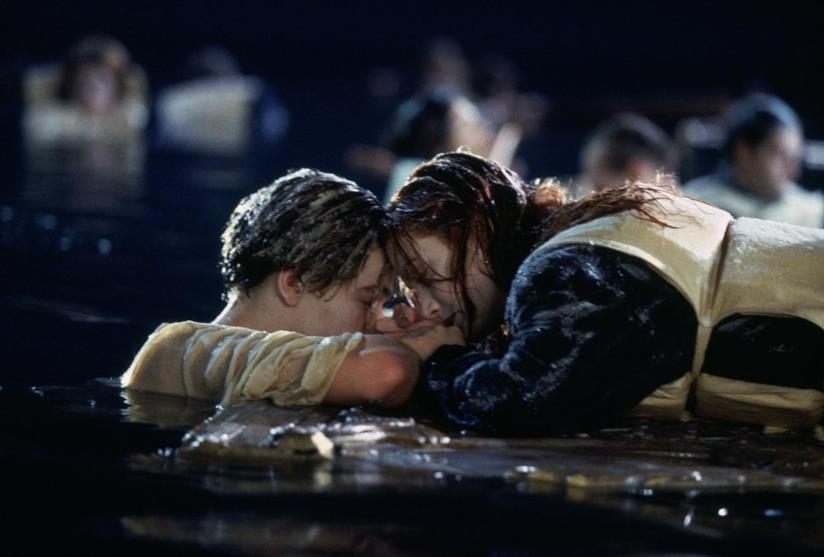 Jack e Rose in Titanic