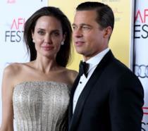Angelina Jolie e Brad Pitt insieme a un evento ufficiale