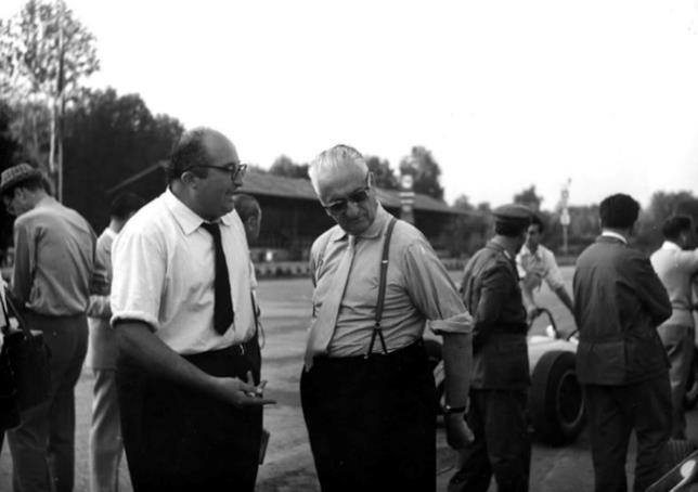 Enzo Ferrari a Monza