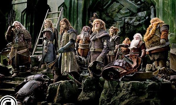 Lo Hobbit - La battaglia delle cinque armate scena