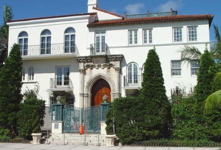 La facciata di Casa Casuarina, hotel di lusso