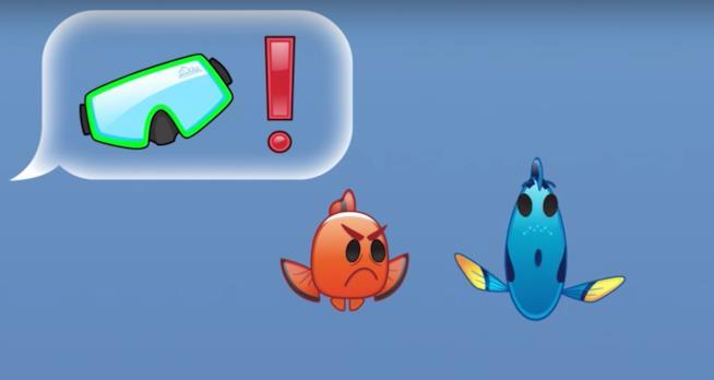 Emoji Nemo Dory Disney 2016