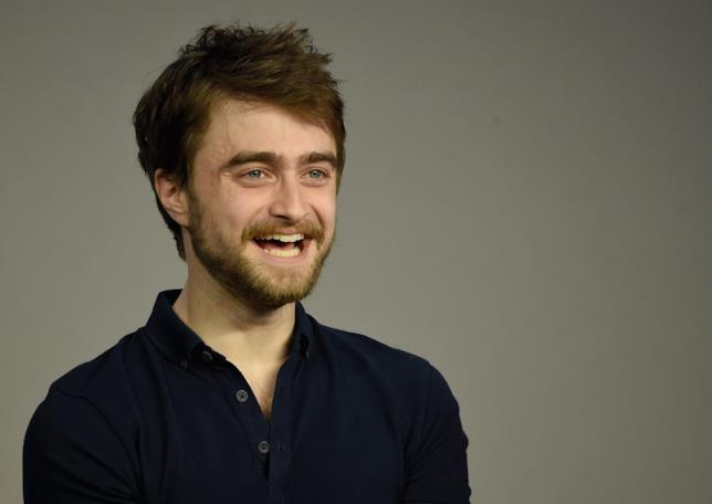 Daniel Radcliffe sorridente a un evento Apple