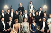 Il cast del film di Downton Abbey