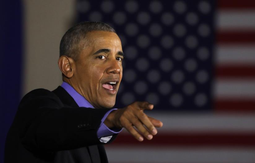 L'ex senatore americano Barack Obama