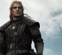 Henry Cavill nei panni di Geralt di Rivia in The Witcher