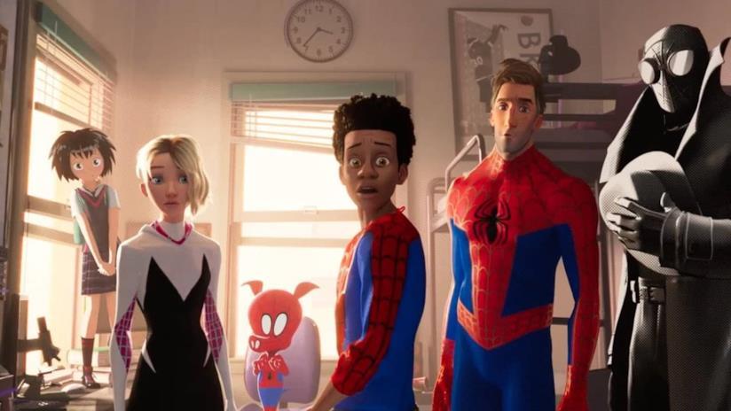 I protagonisti di Spider-Man: Un nuovo Universo