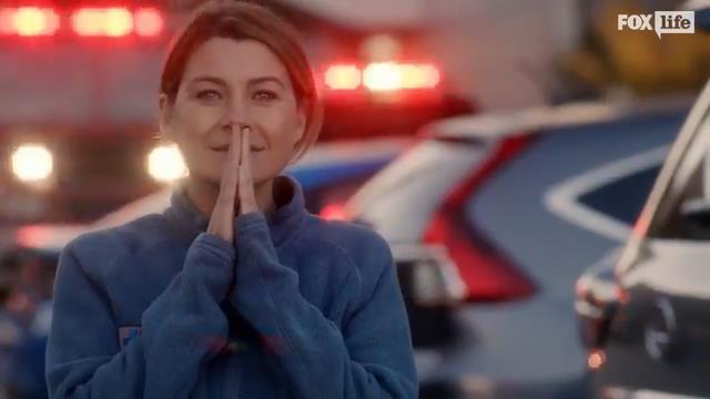 Meredith Grey nel finale di Grey's Anatomy 13