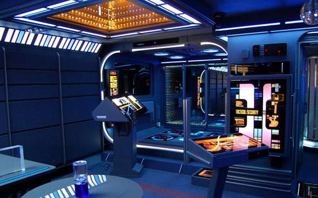 Star Trek Voyager: una casa ispirata al ponte di comando
