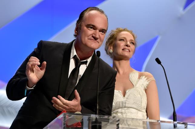 I due volti iconici di Kill Bill, Tarantino e Thurman