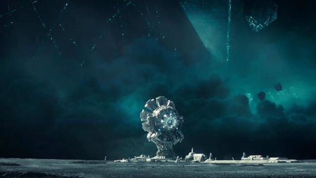 In Independence Day: Rigenerazione la Luna è armata con un cannone planetario