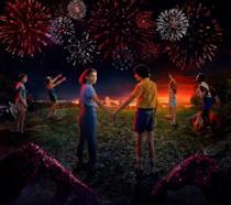 Immagine promozionale della terza stagione di Stranger Things