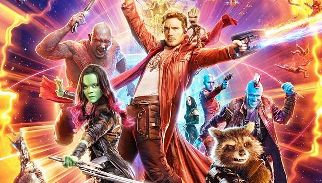 Il poster di Guardiani della Galassia 2