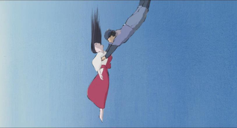 Sutemaru e Gemma di Bambù precipitano dopo un volo