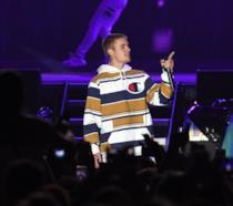 Immagine di Justin Bieber in concerto