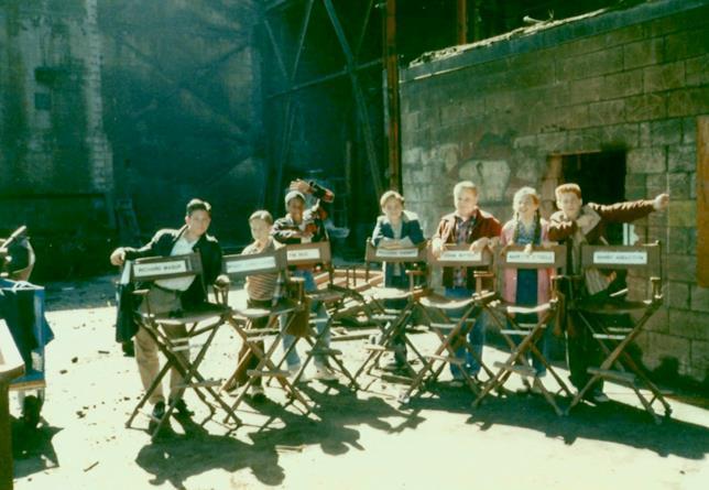 I sette attori che interpretano i Perdenti