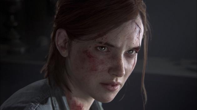 Un primo piano di Ellie dal trailer di The Last of Us 2