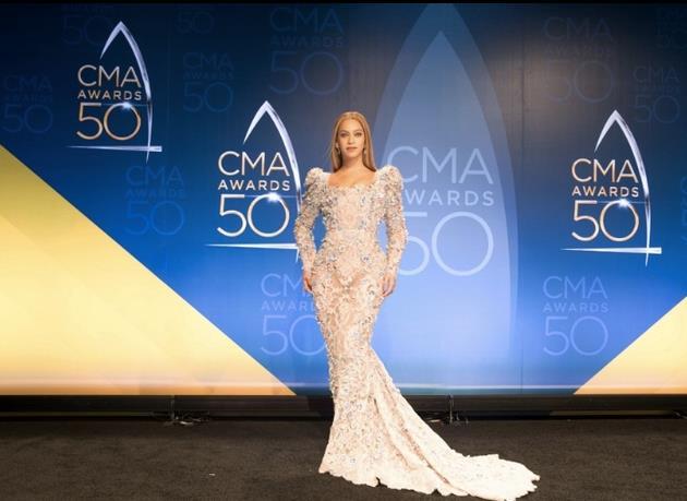 Beyoncé e l'abito da red carpet