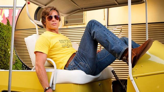 Brad Pitt, attore impegnato in Cera una volta a... Hollywood
