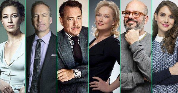 Alcuni interpreti dello stellare cast di The Papers di Steven Spielberg